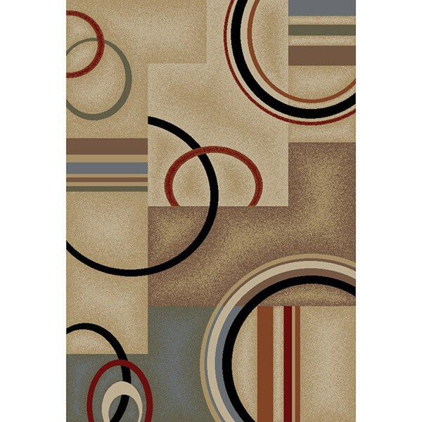 Generations Contemporary Natural Area Rug (3' 11 x 5' 3)