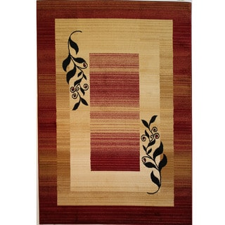 Red Casual Rug (7'10''x9'10'')