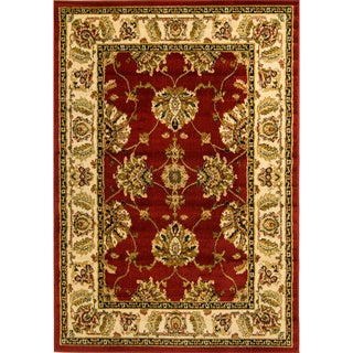 Antep Red Oriental Rug (6'7 x 9'3)