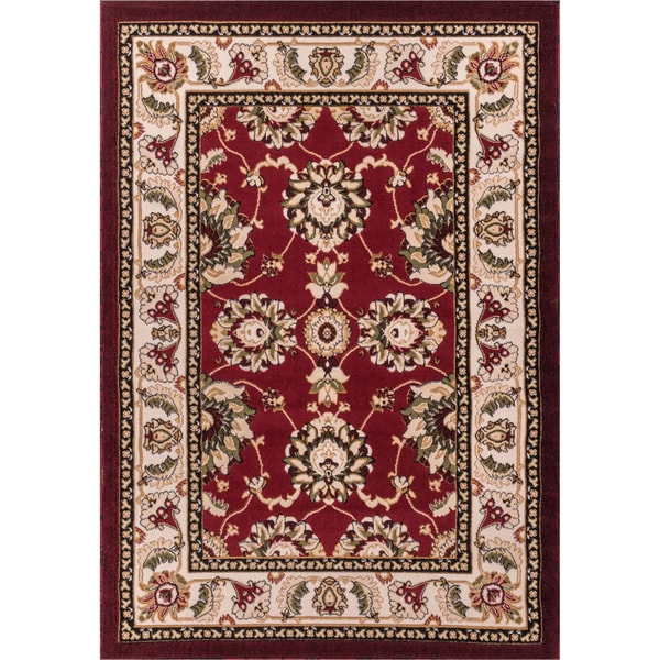 Antep Red Oriental Rug (5' x 7'2)