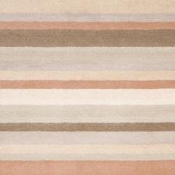 angelo:HOME Loomed Light Brown Madison Square Wool Rug (2' x 3')