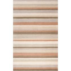 angelo:HOME Loomed Light Grey Madison Square Wool Rug (8' x 10')