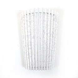 Faux Lace Pleated Fanfold Fixture