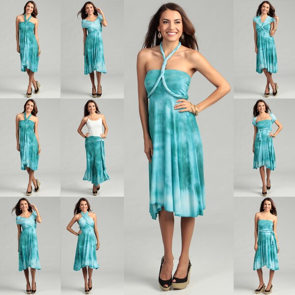 Convertible Sarong Dress Images