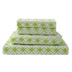 Kendall 11-piece Pink/Green Dorm Room in a Bag with Sheet Set
