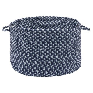 "Color Market Blue Colored Basket - 18""d x 12""h"