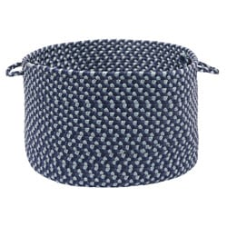 Color Market Blue Colored Basket