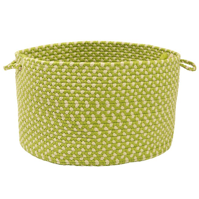 Color Market Lime Colored Basket