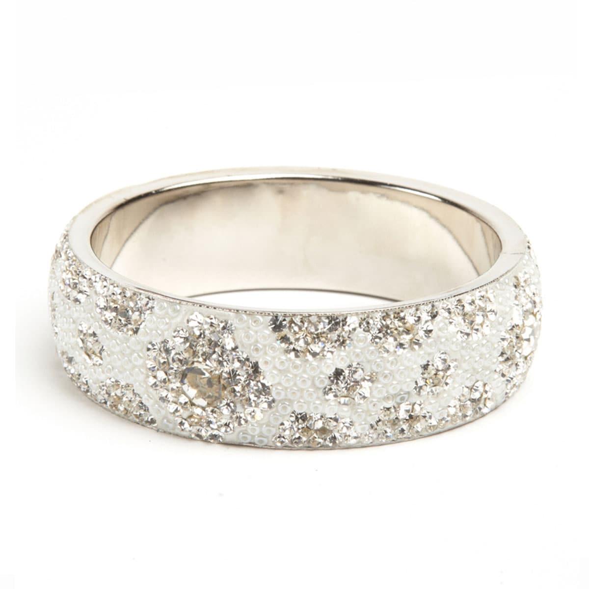 White Crystal Bracelet (India)