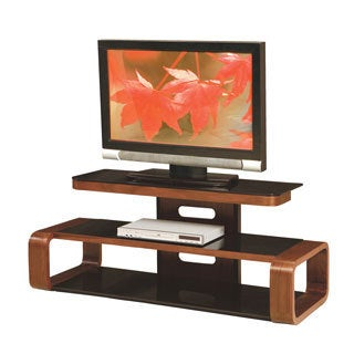 LumiSource Metro Series 182 Bent Wood TV Stand