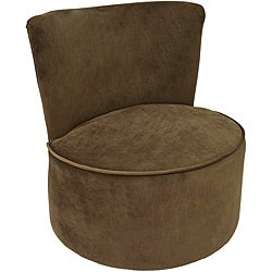 Dark Brown Swivel Chair