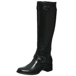 Etienne Aigner Women's 'Captain' Black Riding Boots