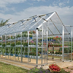 Palram Silver 8x20-foot Snap and Grow Greenhouse