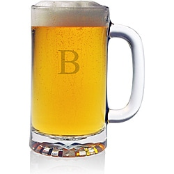 Monogrammed Pub Beer Mugs (Set of 4)