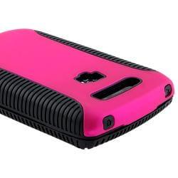 BasAcc Black TPU/ Pink Hybrid Case for BlackBerry Torch 9800/ 9810