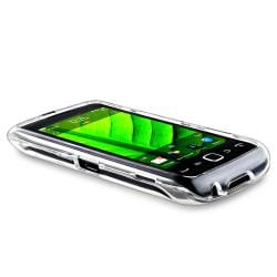 INSTEN Clear Snap-on Crystal Phone Case Cover for Blackberry Torch 9850/ 9860