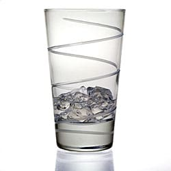 Spiral Collection Hiball Glasses (Set of 4)