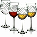 Harlequin Collection Wine Glasses (Set of 4)