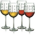 Domino Collection Wine Glasses (Set of 4)