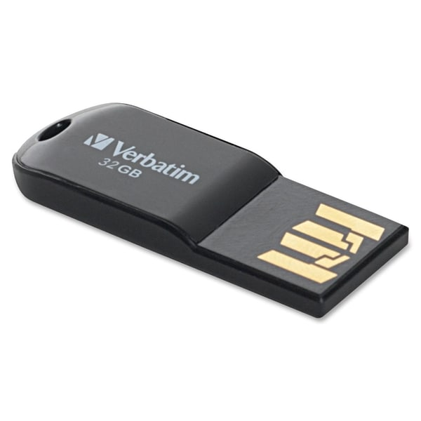 Verbatim 32GB Micro USB Flash Drive - Black