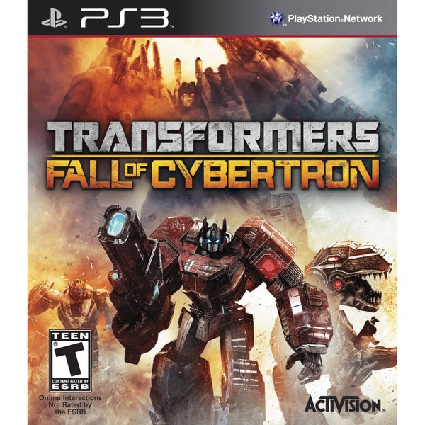 PS3 - Transformers: Fall of Cybertron