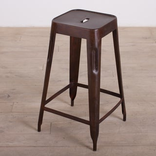 Dark Brown Madurai Counter Stool (India)