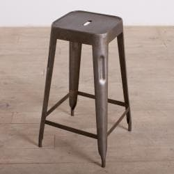 Natural Steel Madurai Counter Stool (India)