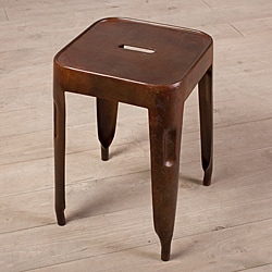 Dark Brown Madurai Stool (India)