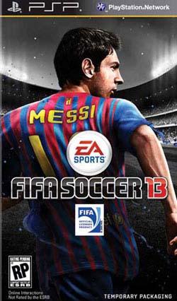 PSP - FIFA Soccer 13