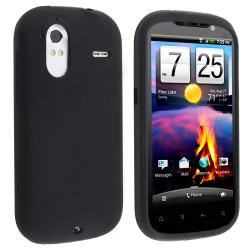 BasAcc Black Silicone Skin Case for HTC Amaze 4G