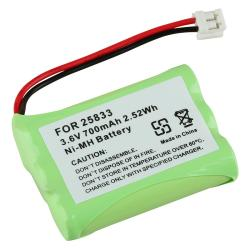 BasAcc Compatible Ni-MH Battery for GE 25833 Cordless Phone