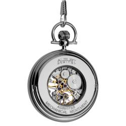 August Steiner Men's Water-Resistant Automatic Pocket Watch