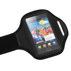 Black Armband for Samsung Galaxy S II i9100