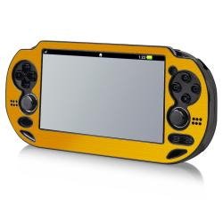 INSTEN Gold Aluminum Case Cover for Sony Playstation Vita