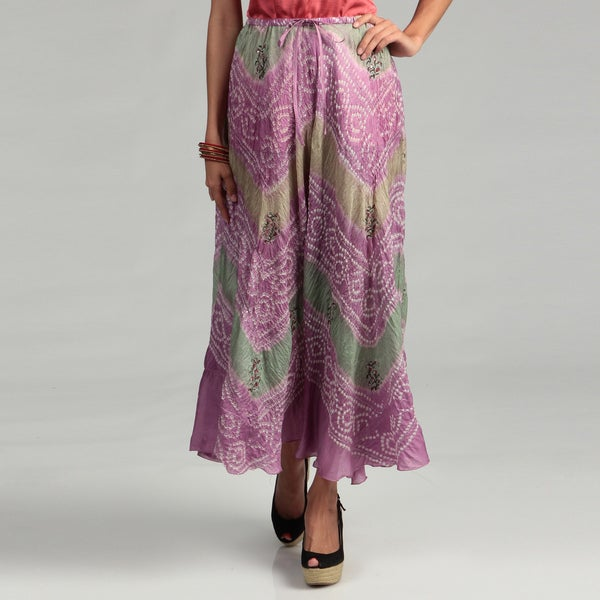 Tokyo Collection Women's Tie Dye Sequin Skirt