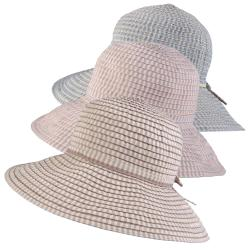 Hailey Jeans Co. Women's Checkered Wide Brim Sunhat