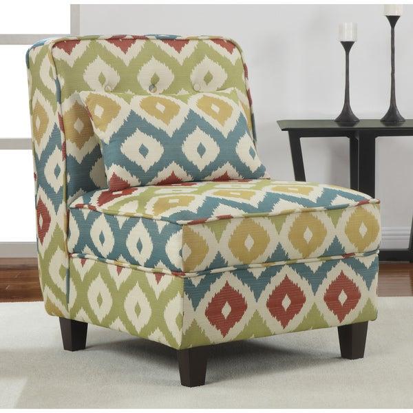 Mattie Tufted Slipper Calypso Chair