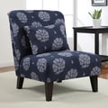 Anna Indigo Wash Accent Chair