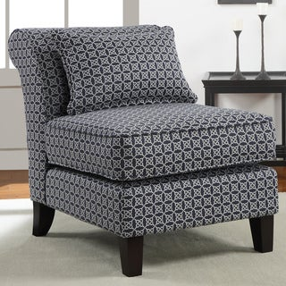 Indigo Link Slipper Chair