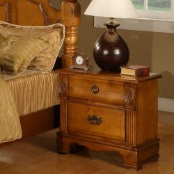 Vista 2-drawer Nightstand