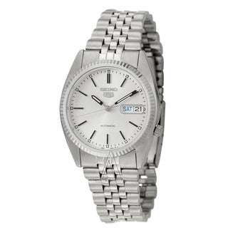 Seiko Men's Silver Dial Automatic Watch