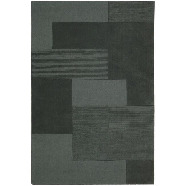 Nourison Hand-tufted Grey Atlantic Bowery Rug (7'9 x 10'10)
