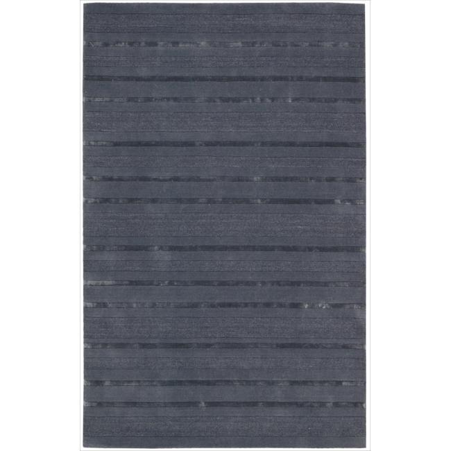 Nourison Hand-tufted Grey Sahara Rug (5'3 x 7'5)