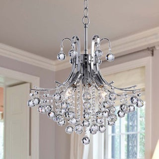 Epic Namika light Crystal and Chrome Chandelier