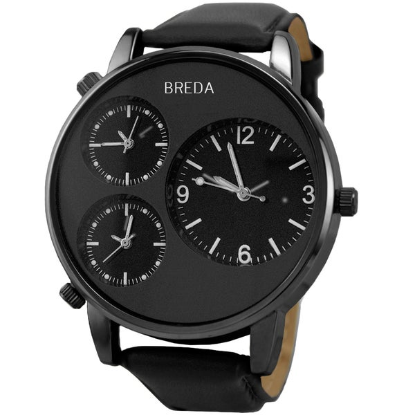 Breda Men's Mitchell Water-resistant Stainless-steel Watch