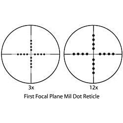 Barska 3-12x40 Tactical Riflescope