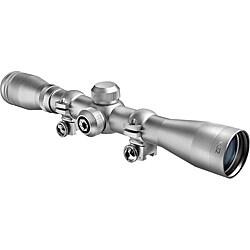 Barska 4x32 'Plinker-22' Silver Riflescope