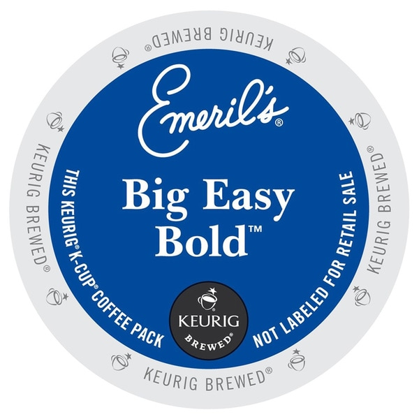 Emeril's Big Easy Bold Coffee, K-Cup for Keurig Brewers (48 count)