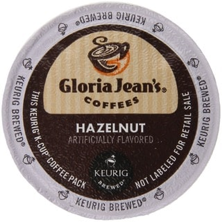 Gloria Jean's Coffees Hazelnut Coffee K-Cup for Keurig Brewers