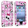 Purple/ Skull Snap-on Case for Apple iPod Touch Generation 2/ 3